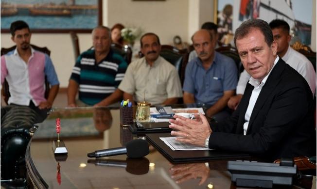Tarsuslu Muhtarlardan Başkan Seçer'e Ziyaret