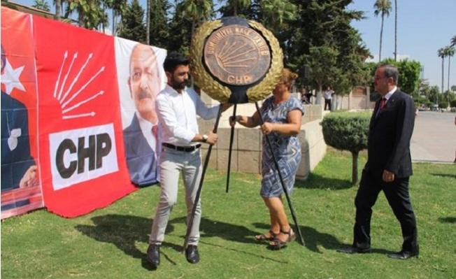 CHP'nin 96'ıncı Kuruluş Yıl Dönümü Mersin'de Törenle Kutlandı