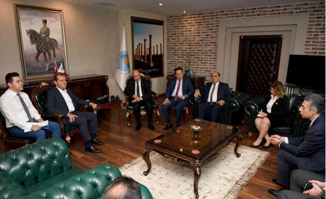 Irak'ın Ankara Büyükelçisi Hasan al-Janabi Mersin'de