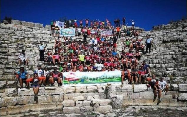 Mersin Caretta Bisiklet Festivali'ne Yoğun İlgi