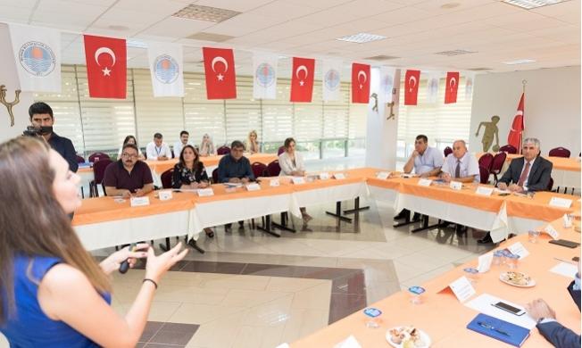 Mersin'de Daire Başkanlarına, Kalite Yönetim Eğitimi Verildi