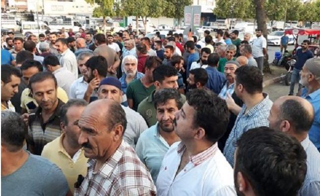 Mersin'de Pazarcılardan Boykot