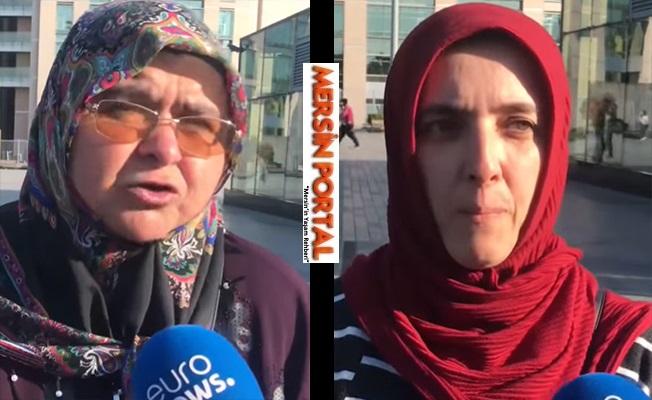 Oğlu PKK'ya Katılanlar HDP Önünde Toplanınca Oğlu FETÖ'den Tutuklananlar AKP Önünde Buluştu