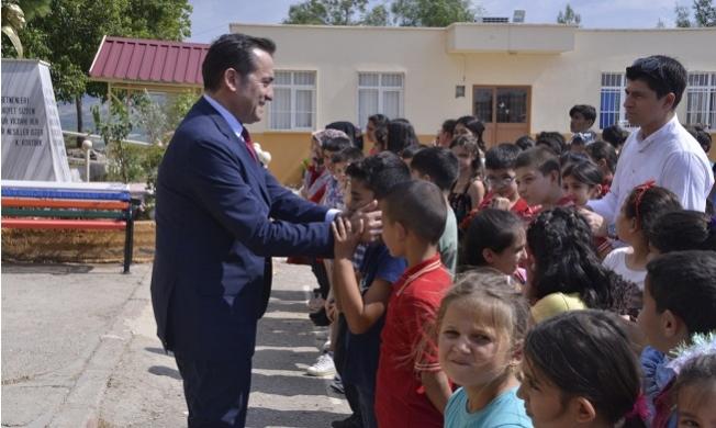 Özyiğit Köy Okulunda Öğrencilerle Buluştu