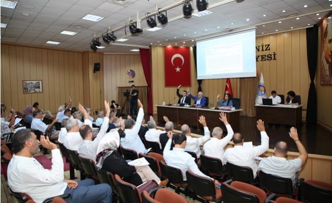 Akdeniz Belediye Meclisi, Ekim Ayı İkinci Birleşimini Gerçekleştirdi