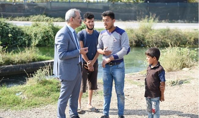 Başkan Bozdoğan, Suriyeli Sığınmacıların Sorunlarını Dinledi