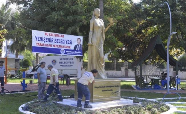 Dünya Barış Parkı'na Yerleştirilen Heykelin Açılışı 5 Ekim Cumartesi