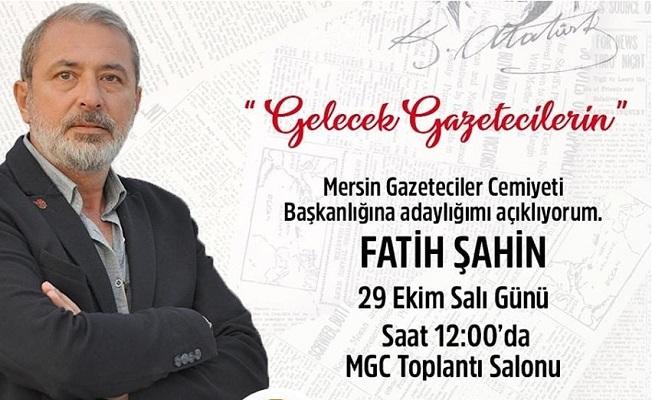 Fatih Şahin, MGC Başkan Adaylığını Açıklıyor
