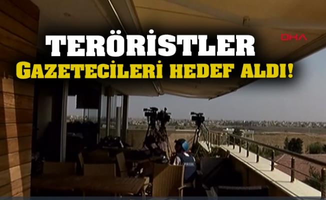 İHA Muhabiri: Gazetecilerin Kaldığı Otelin Yakınına Havan Topu Düştü