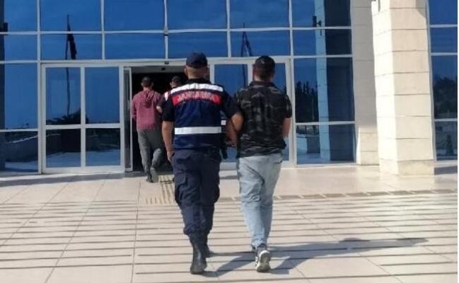 Kablo Hırsızı Jandarmaya Takıldı