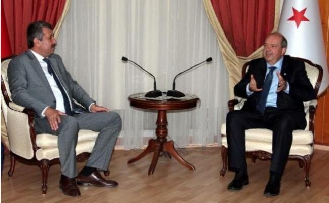 KKTC Başbakanı Anamur'a Geliyor