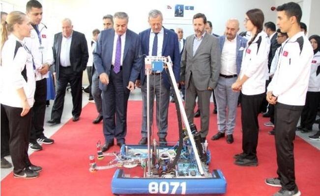 Liselerarası Robotik Turnuvası Mersin'de Başlıyor