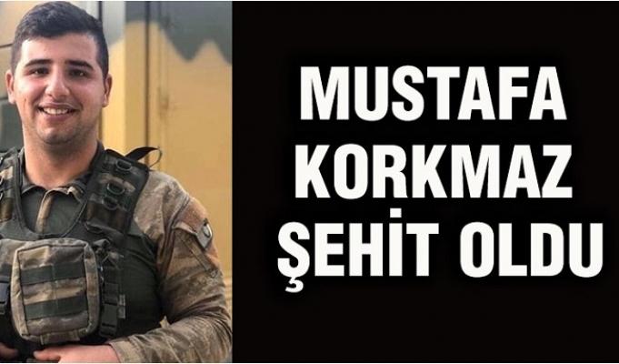 Mersinli Mustafa Korkmaz Şehit Oldu
