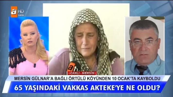 Müge Anlı, Mersin'de 9 Aydır Kayıp Olan Ailenyi Canlı Yayında Reddetti