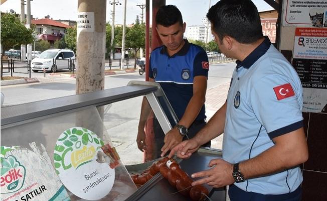 Tarsus'ta Zabıta Ve Sağlık Ekiplerinden İşyerlerine Denetim