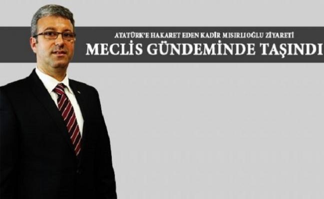 Atatürk'e Saldıran Şube Müdürü Meclis Gündeminde