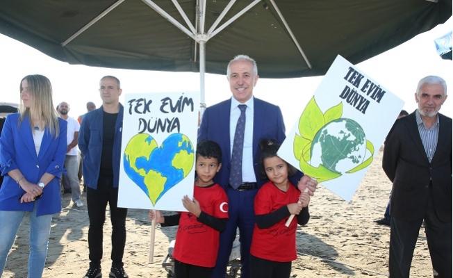 Başkan Gültak, Adanalıoğlunda Temizlik Kampanyasına Katıldı