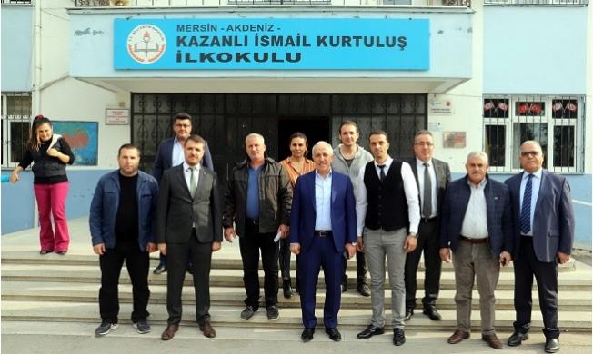Başkan Gültak'dan Öğretmenler Günü Ziyareti