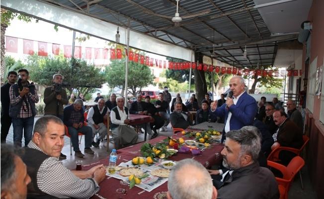Başkan Gültak'ın Mahalle Ziyaretleri Sürüyor