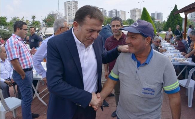 Başkan Özyiğit İşçilerle Buluştu