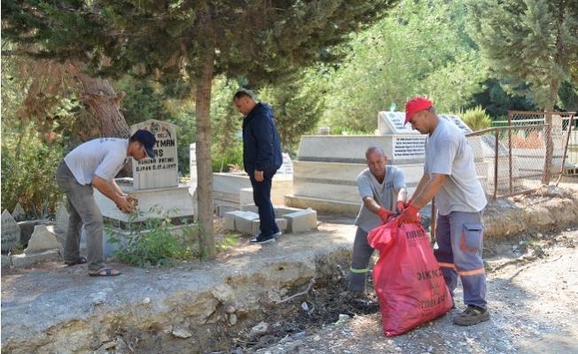 Mersin Büyükşehir Belediyesirden ,Eshab-ı Kehf Dağında Temizlik