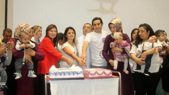 Mersin'de Dünya Prematüre Çocuk Günü Kutlaması