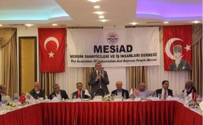MESİAD, Mersin'in Sorunlarını Konuştu