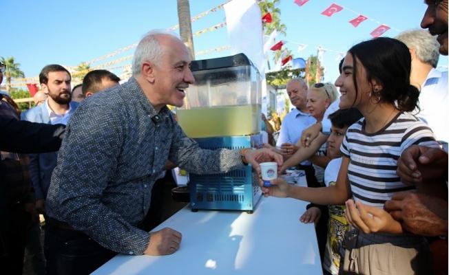 Narenciye Festivalinde Akdeniz Belediyesi Standına Yoğun İlgi