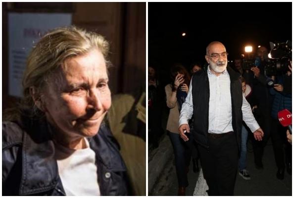 Nazlı Ilıcak ve Ahmet Altan, Cezaevinden Tahliye Edildi
