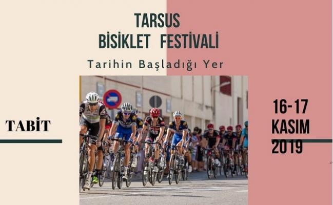 Tarsus'da Bisiklet Festivali Heyecanı