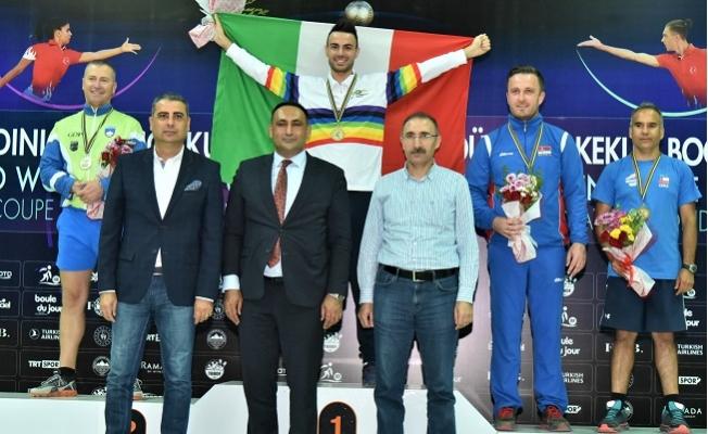 Toroslar'dan Dünya Bocce Şampiyonasında ses getiren başarı