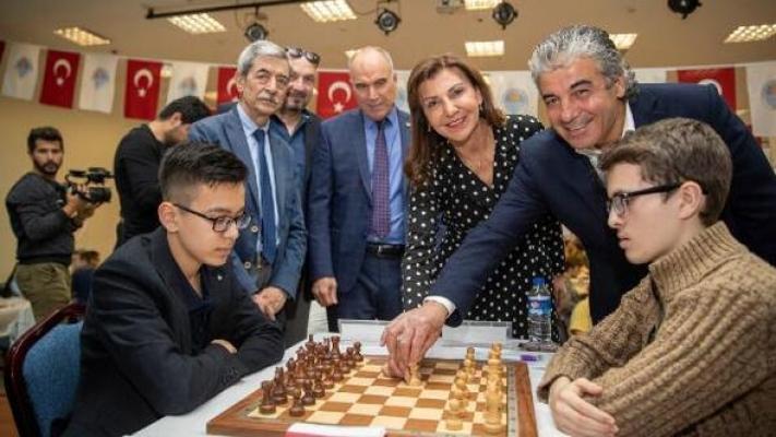 Uluslararası Mersin Satranç Turnuvası Başladı