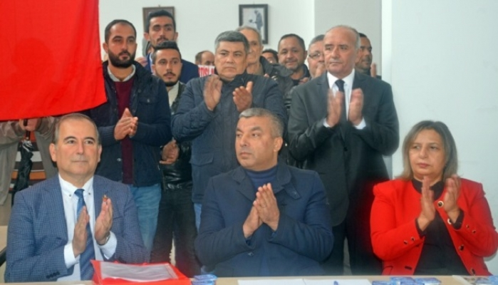 CHP Anamur İlçe Başkanı Durmuş Deniz, Resmen Görevine Başladı.