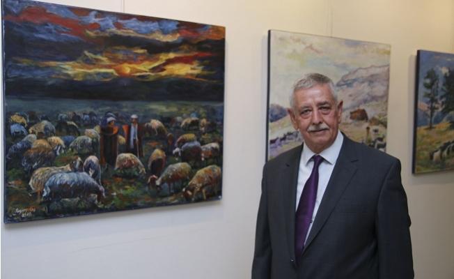 Eski Belediye Başkanı MTSO'da Sergi Açtı