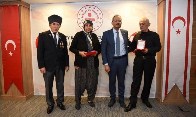 Kıbrıs Barış Harekatı'na Katılan 24 Gaziye, Madalya ve Beraatları Verildi