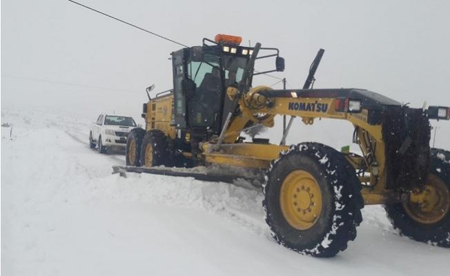 Mersin Büyükşehir Kar Alarmında