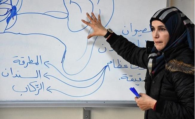 Suriye Öğretmenler Göreve Başladı
