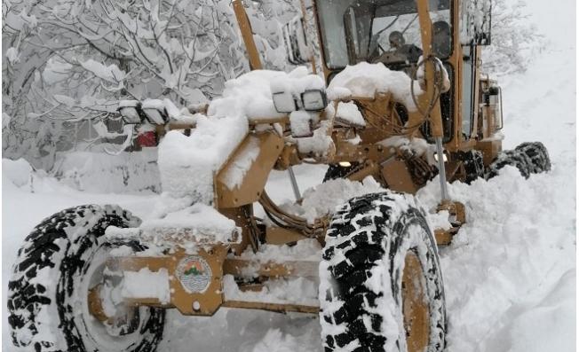 Yaylalara Kar Düştü Toroslar Harekete Geçti