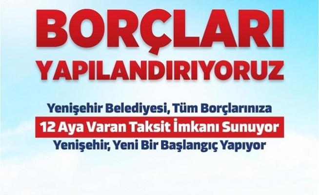 Yenişehir Belediyesi Borçları Yapılandırılıyor