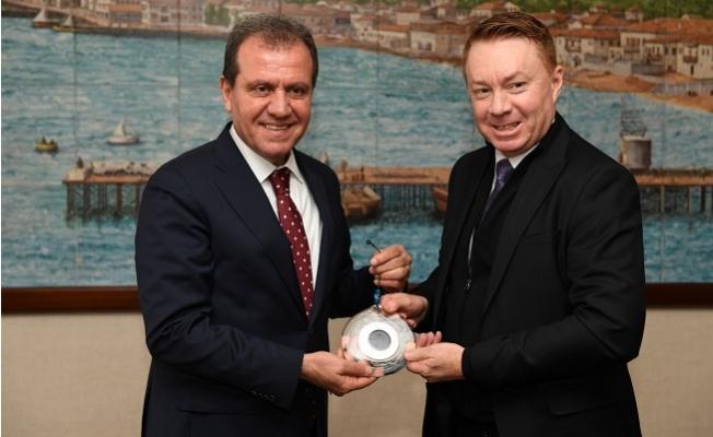 Avustralya Büyükelçisi Brown'dan Başkan Seçer'e Ziyaret