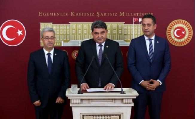 """CHP'nin Mersinli Milletvekilleri """"Mersin Afet Bölgesi Olsun Dedi"""""""