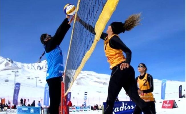 Kar Veleybolu Türkiye Şampiyonası Toroslar'da Yapılacak
