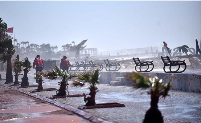 Mersin 21-22 Ocak Tarihlerinde Fırtına Beklendiği Uyarısı Yapıldı