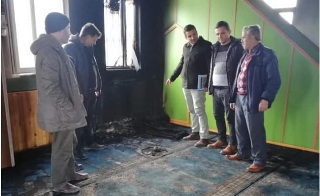 Mersin Gülnar'da Bir Camide Yangın Meydana Geldi