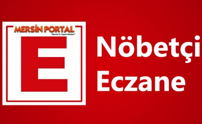 Mersin Nöbetçi Eczaneler 09 Ocak 2020 Perşembe