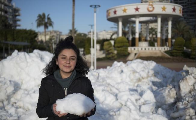 Mersinliler'e Kar Sürprizi