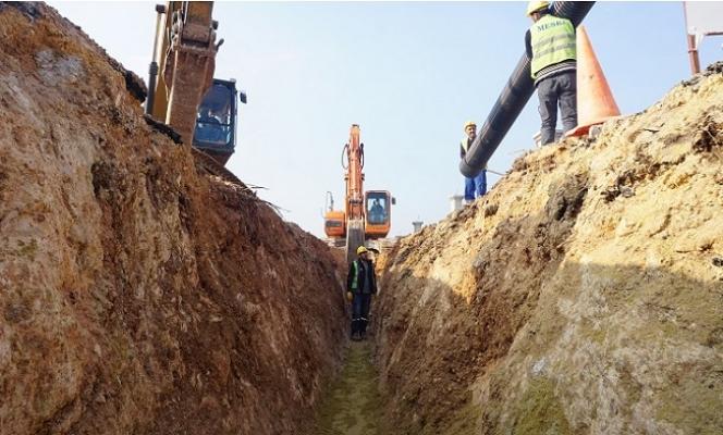 MESKİ Batı Havzası Kanalizasyon Çalışmalarını Tamamlandı