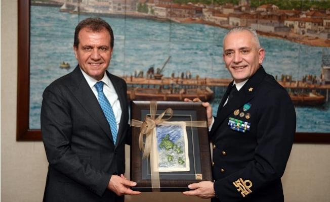 Nato Komutanı'ndan Başkan Seçer'e Ziyaret
