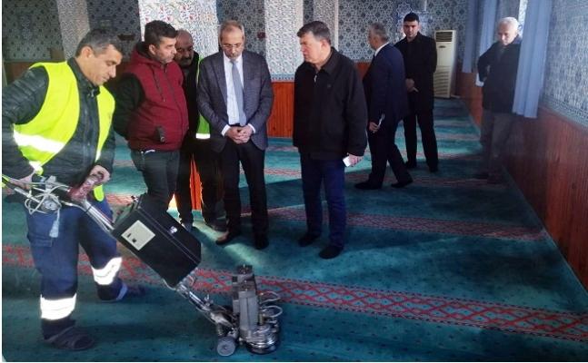 Tarsus'da Camilerde ve Cem Evinde Temizlik Dönemi Başladı