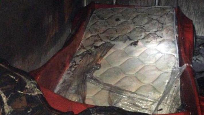 Tarsus'da Yaşadığı Evde Çıkan Yangında Öldü